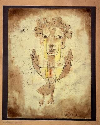 Klee, paul, angelus novus, 1920